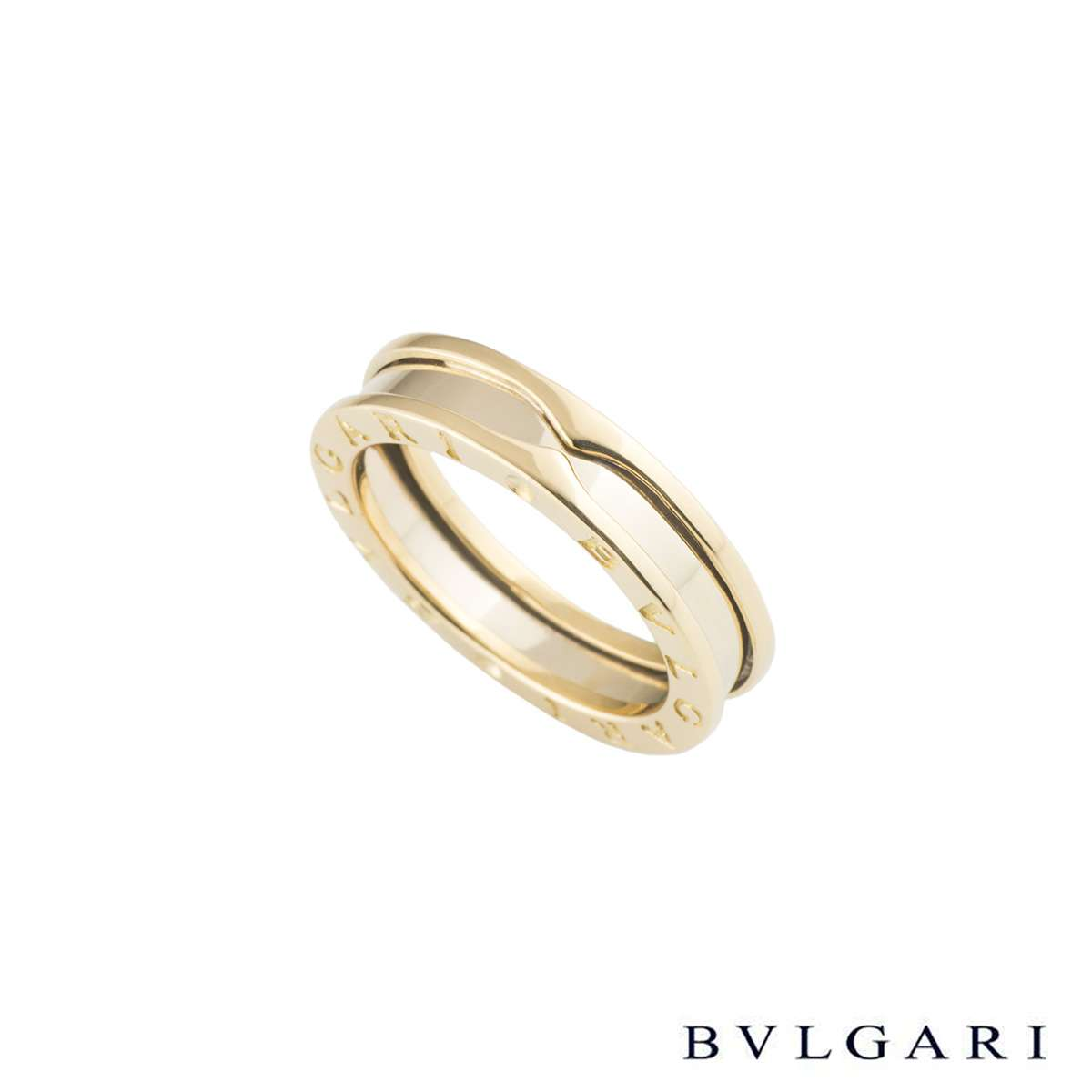 Bvlgari Yellow Gold B.zero1 Ring